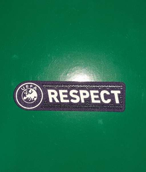 Patch UEFA Respect 2009-2010-2011 badge logo