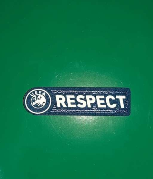 Patch UEFA Respect 2011-2012 badge logo