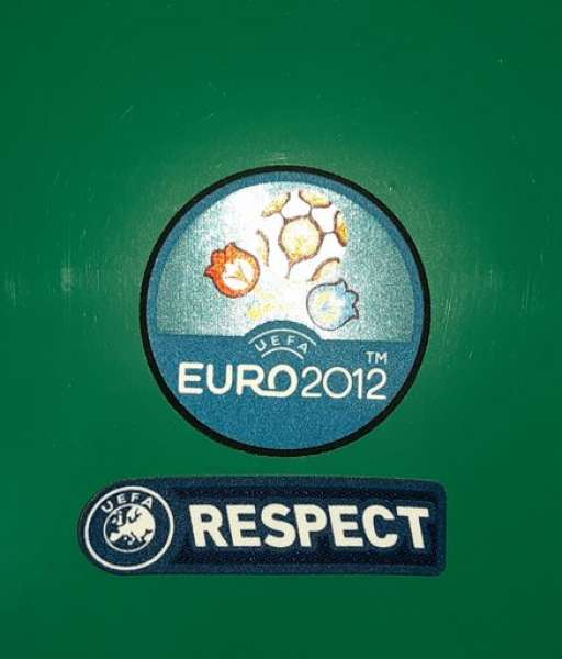 Patch UEFA EURO 2012 & Respect badge logo