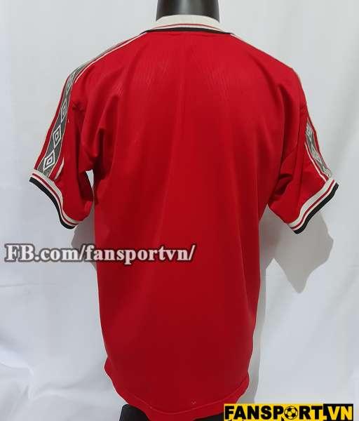 Áo đấu Manchester United Winner Treble 1998 1999 home shirt jersey red