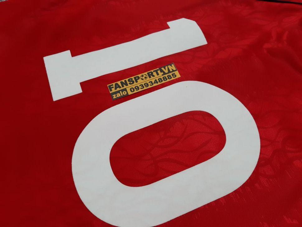 Áo đấu #10 Manchester United 1990-1991-1992 home shirt jersey red