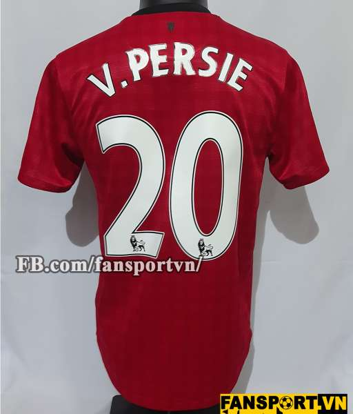 Áo đấu Persie #20 Manchester United 2012-2013 home shirt jersey red