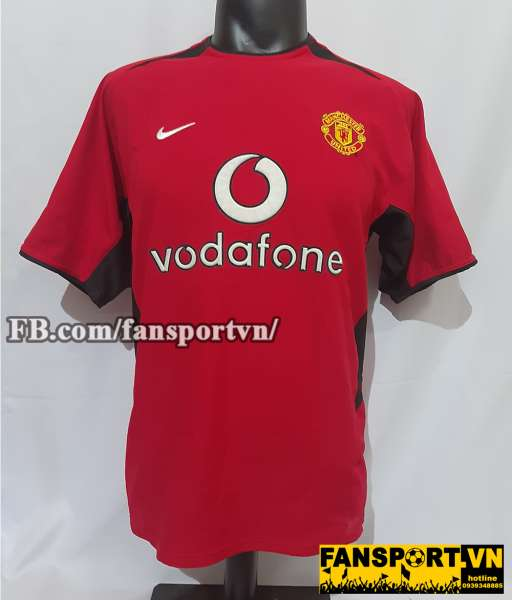 Áo đấu Manchester United 2002-2003-2004 home shirt jersey red