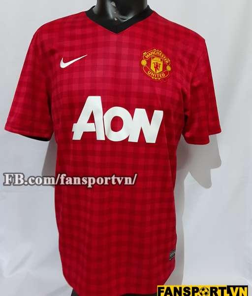 Áo đấu Manchester United 2012-2013 home shirt jersey red
