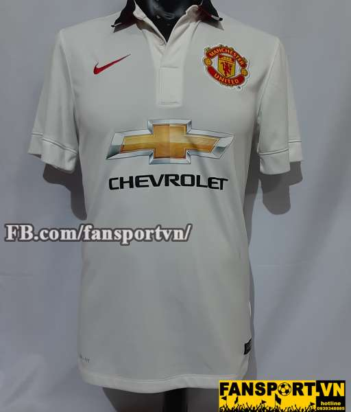 Áo đấu Manchester United 2014-2015 away shirt jersey white