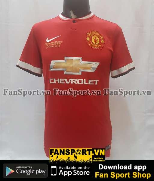 Áo Manchester United Legend Munich Old Trafford 2015 home shirt 2014
