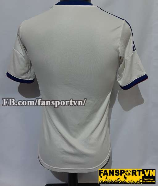 Áo đấu Chelsea 2013-2014 away home shirt jersey white