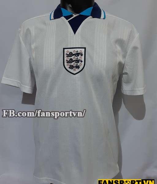 Áo đấu England 1995-1997 home shirt jersey white