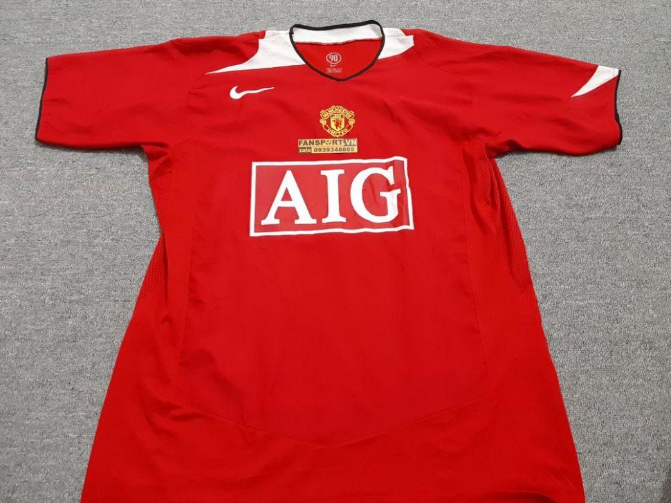 brand new ceae9 370c6 Áo đấu Manchester United 2004-2005-2006 AIG home shirt ...