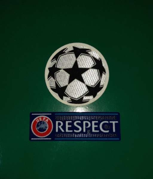 Full patch Champion League 2012-present UEFA Respect badge