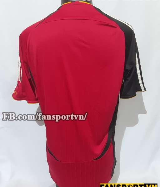 Áo đấu Germany 2006-2007-2008 away shirt jersey red World Cup