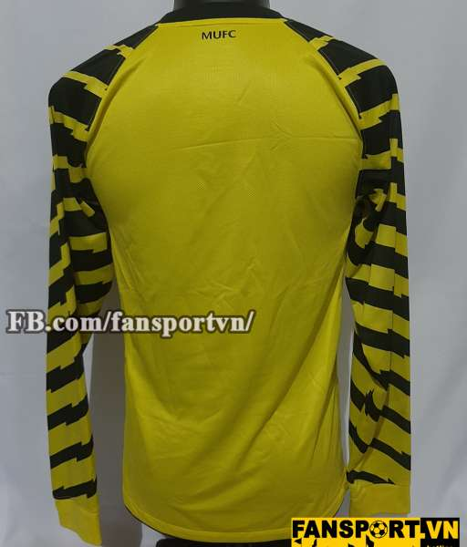 Áo thủ môn Manchester United 2010-2011 third goalkeeper yellow