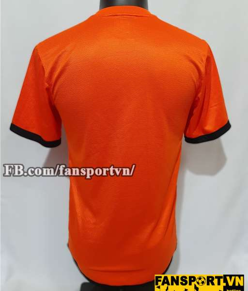 Áo đấu Netherland 2012 2013 2014 home shirt jersey orange Holland