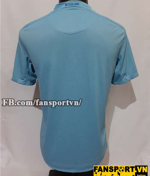 Áo đấu Netherland 2008-2009-2010 away shirt jersey blue Holland Euro