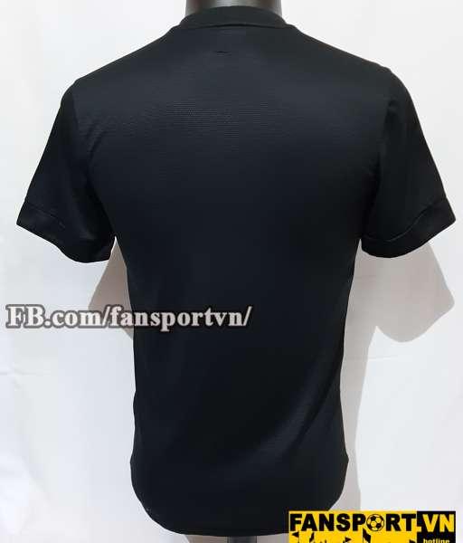 Áo đấu Netherland 2012-2013 away shirt jersey black Holland Euro