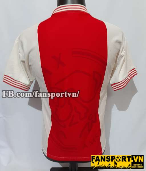 Áo đấu Ajax Champion League Final 1996 home red shirt jersey 1995