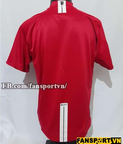 Áo đấu Manchester United 2007-2008-2009 home shirt jersey red