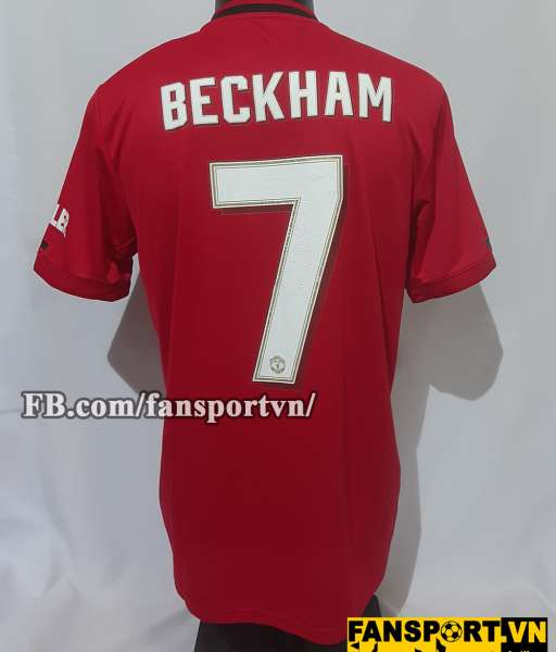 Áo đấu Beckham #7 Manchester United Treble 1999 Reunion home shirt red