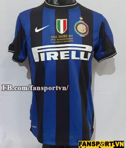 Áo đấu Internazionale Milan Champion League Final 2010 shirt home