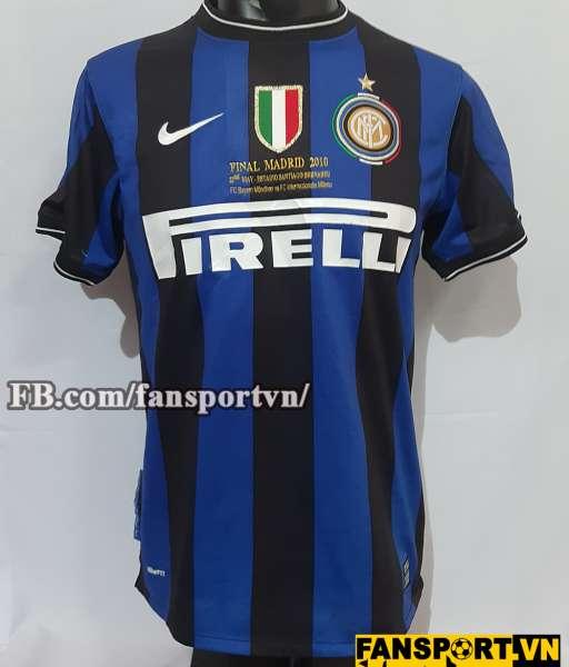 Áo Internazionale Milan Champion League Final 2010 shirt home Inter