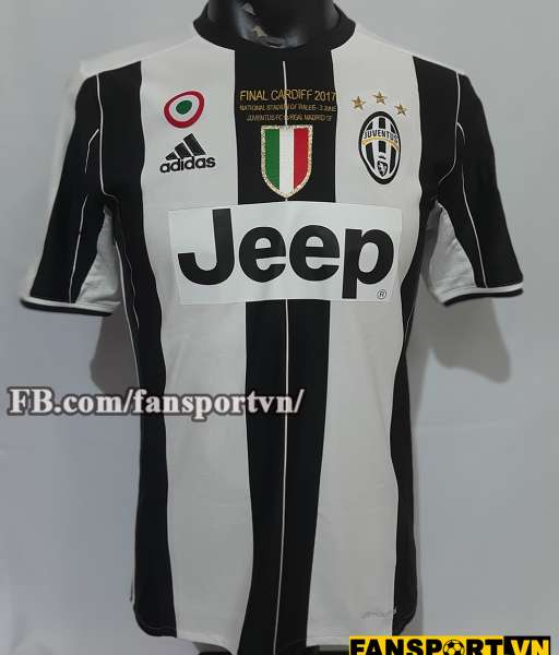Áo đấu Juventus Champion League Final 2017 home shirt jersey 2016