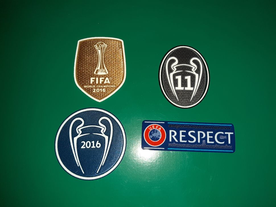 Patch Champion League Real Madrid 2016-2017 badge winner