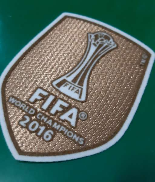 Patch FIFA Club World Cup winner 2016 Real Madrid badge