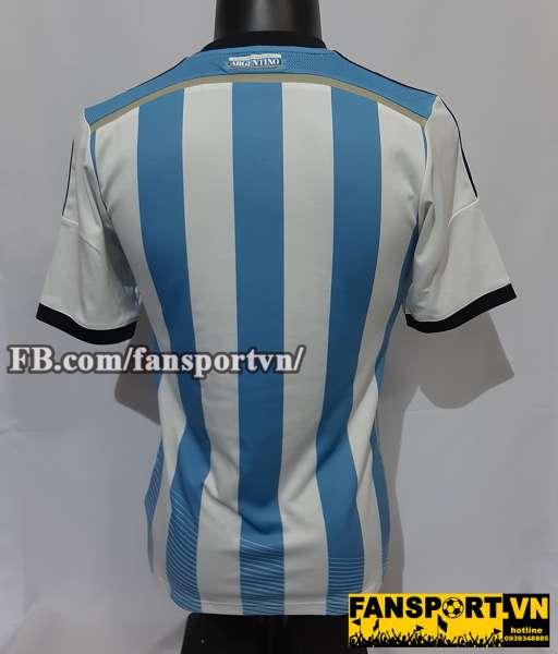 Áo đấu Argentina 2013-2014-2015 home shirt jersey blue white