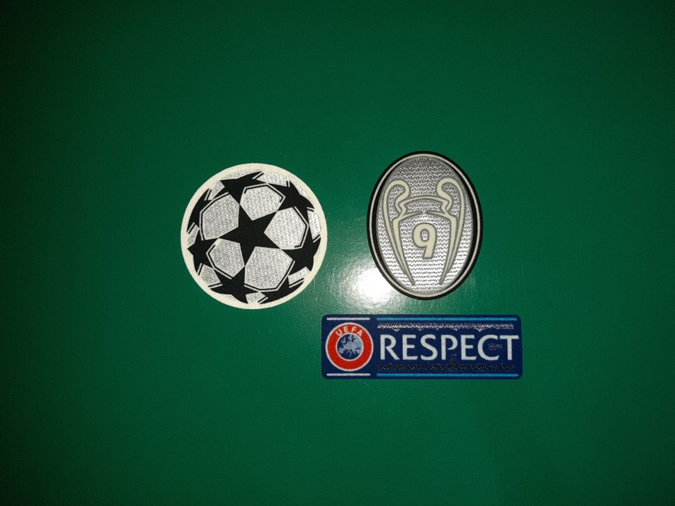 Patch Champion League Real Madrid 2012-2013time trophy 9 gey Respect