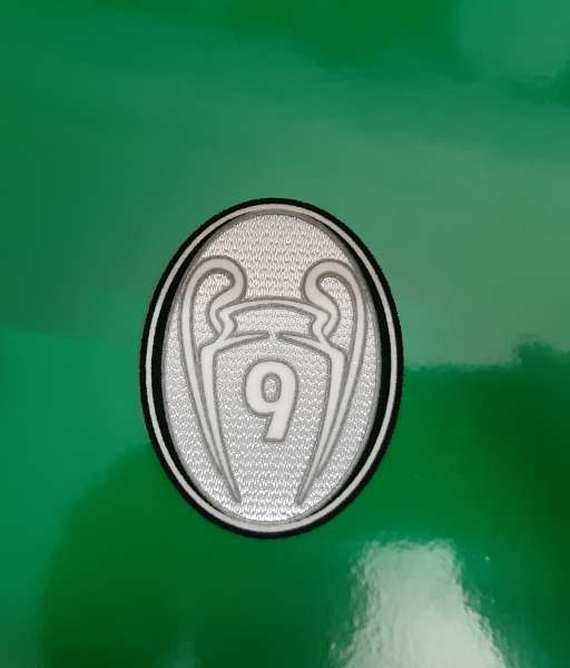Patch Champion League time trophy 9 grey 2012-2013 Real Madrid badge