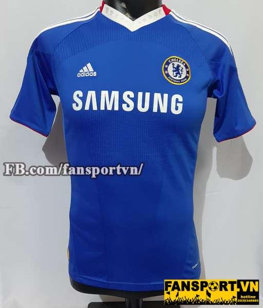 Áo đấu Chelsea 2010-2011 home shirt jersey blue