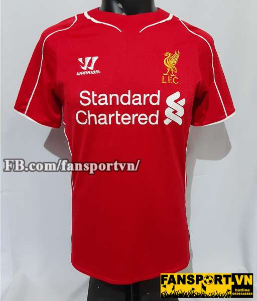 Áo đấu Liverpool 2014-2015 home shirt jersey red