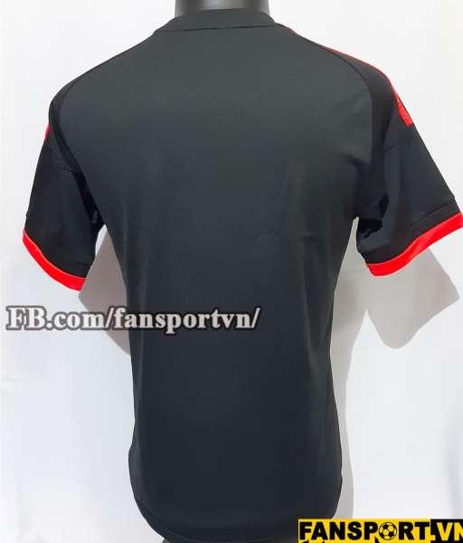 Áo đấu Manchester United 2015 2016 third shirt jersey black