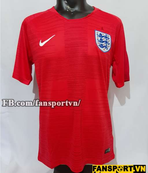 Áo đấu England 2018-2019 away shirt jersey red