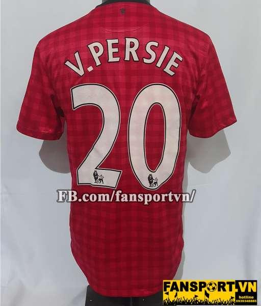 Áo đấu V.Persie #20 Manchester United 2012-2013 home shirt jersey red