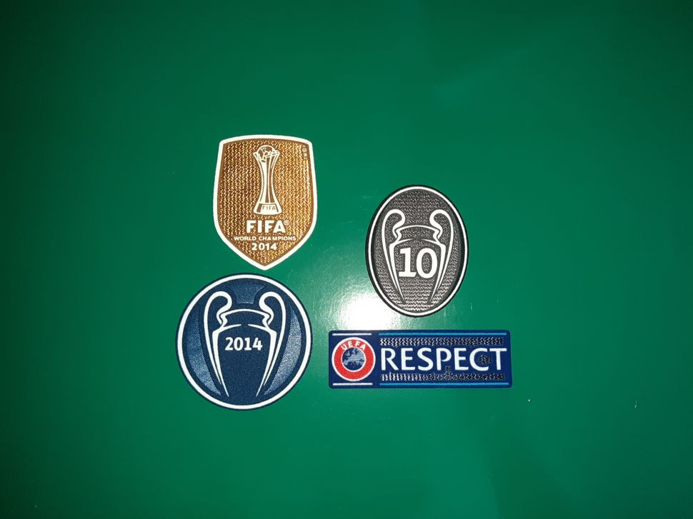Patch Champion League Real Madrid 2014-2015 badge winner