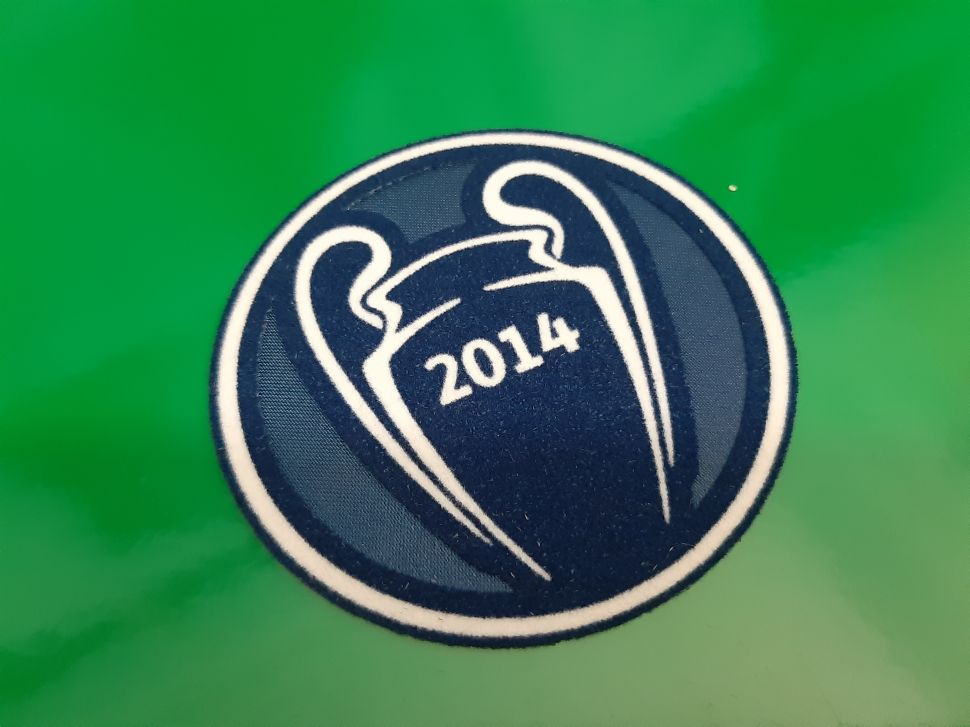 Patch Champion League winner 2014 Real Madrid badge