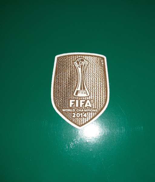 Patch FIFA Club World Cup winner 2014 Real Madrid badge