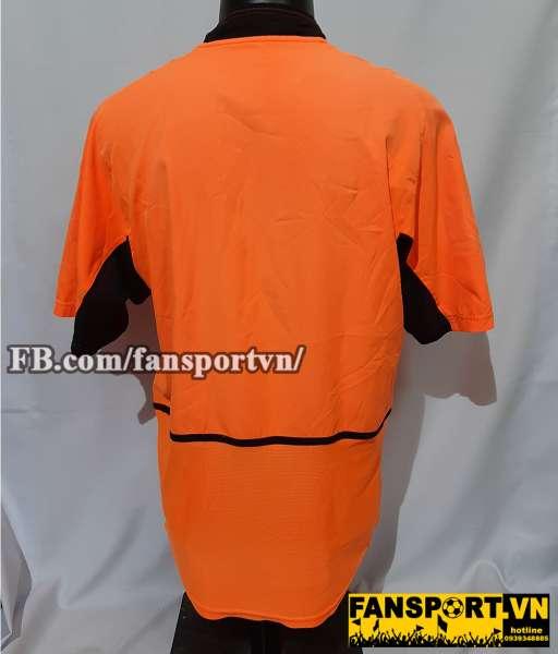 Áo đấu Netherlands 2002 2003 2004 home shirt jersey orange Holland