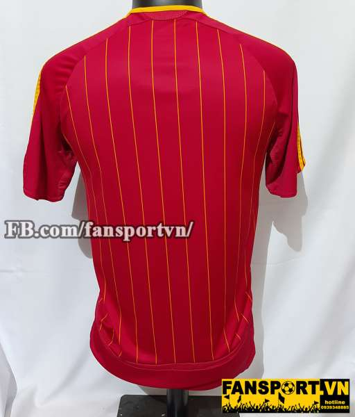 Áo đấu Spain 2005 2006 2007 home shirt jersey red