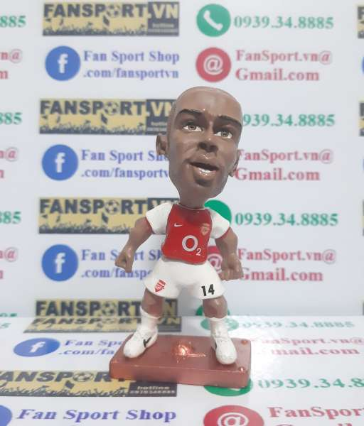 Tượng Thierry Henry Arsenal 2002 2003 2004 home red figures