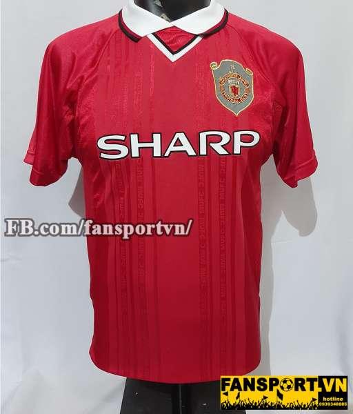 Áo đấu Beckham #7 Manchester United 1997-2000 Champion League shirt