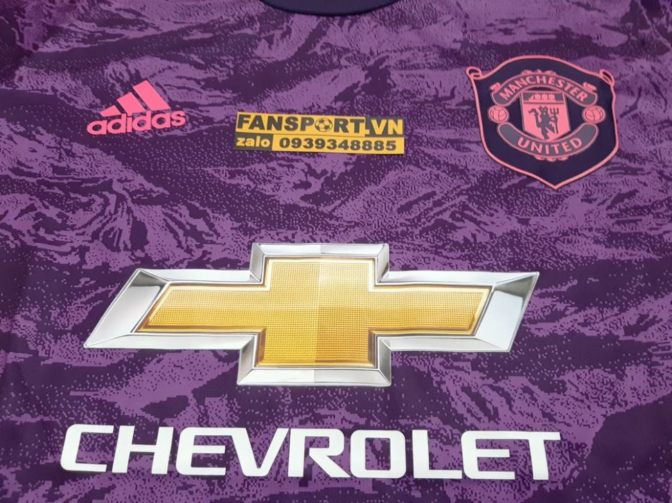 Áo thủ môn Manchester United 2019-2020 home shirt jersey GK goalkeeper