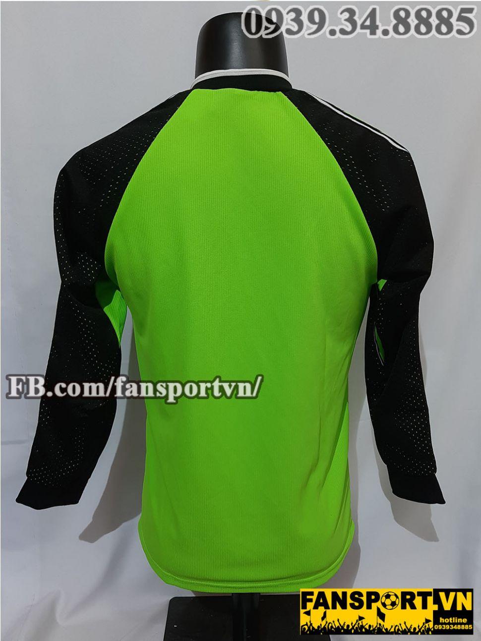 Áo thủ môn Manchester United 1998-1999-2000 home shirt jersey green GK