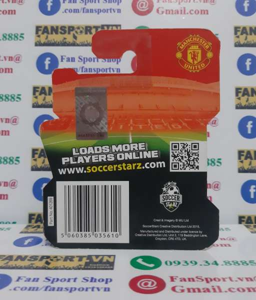 Tượng Memphis Depay Manchester United 2014-2015 home soccerstarz