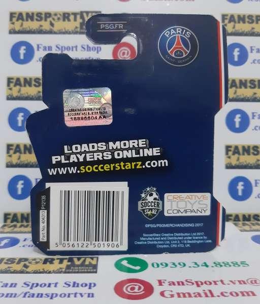 Tượng Neymar PSG 2017-2018 home soccerstarz blister