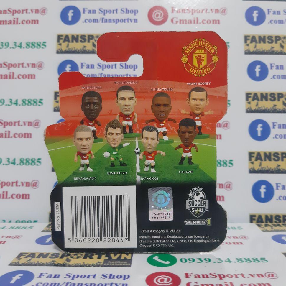 Tượng Patrice Evra Manchester United 2012-2013 home soccerstarz