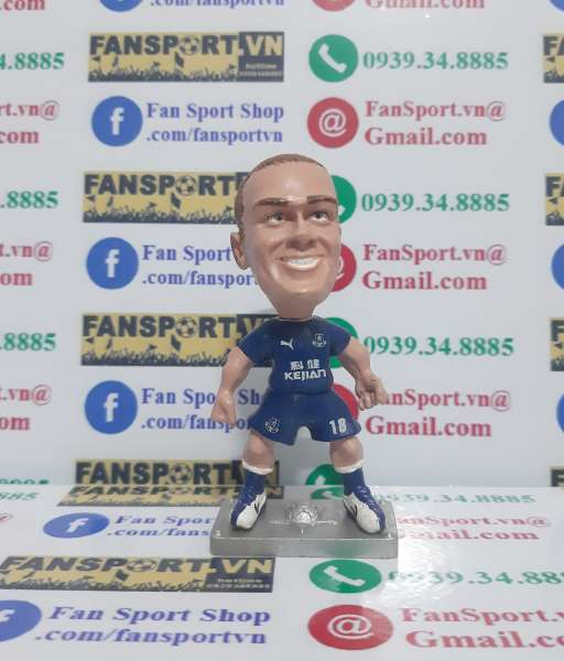 Tượng Wayne Rooney Everton 2003-2004 home grey base figure