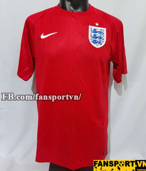Áo đấu England 2014-2015 away shirt jersey red