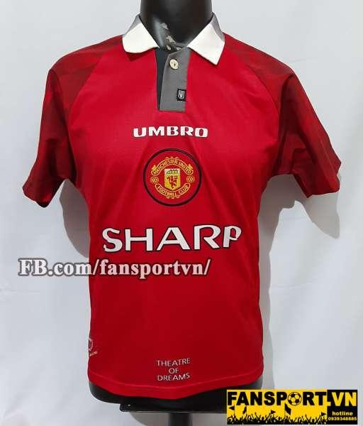 Áo đấu Manchester United 1996-1997-1998 home shirt jersey red